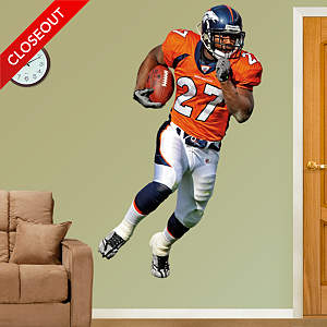 Knowshon Moreno Fathead Wall Decal